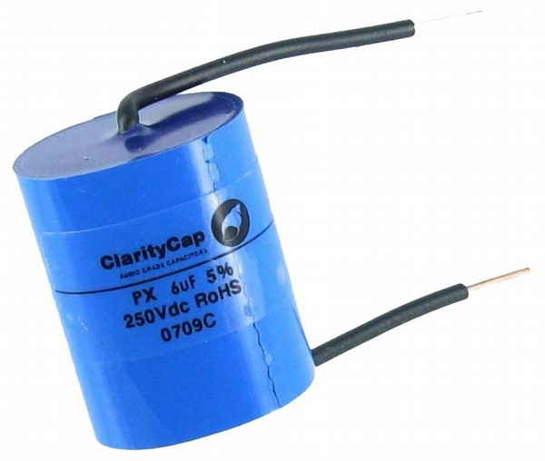 Claritycap px serie 1,00uf 250vdc condensador