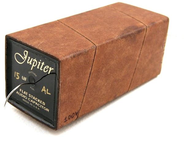 Jupiter Condenser Copper Foil Paper   Wax 100VDC - 5% tolerance d8b0f8bc46a4e